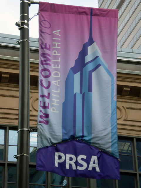 PRSA Welcome Flag