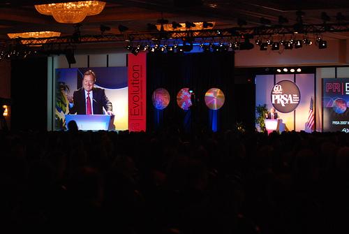 Tim Russert - PRSA International Conference - Philadelphia, PA