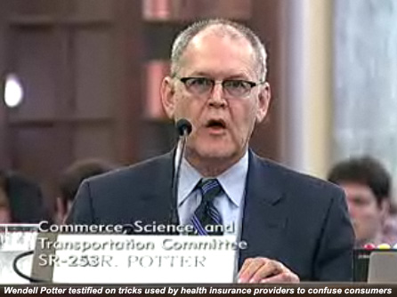 Wendell Potter, APR testifies