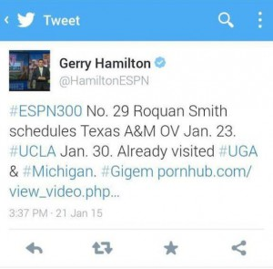 Gerry Hamilton Porn Tweet
