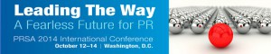 2014 PRSA International PR Conference banner