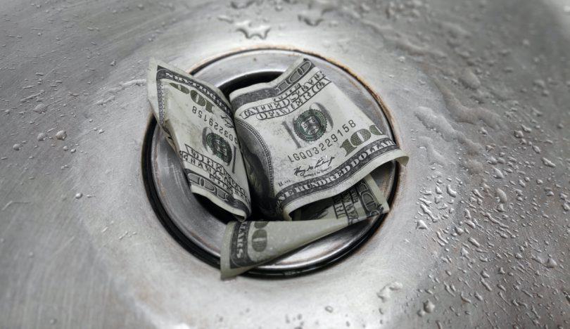 financial drain